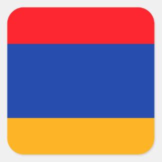 Armenia Flag Square Sticker