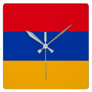 Armenia Flag Wall Clocks