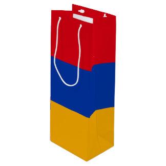 Armenia Flag Wine Gift Bag