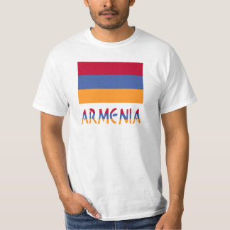 Armenia Flag & Word T-Shirt
