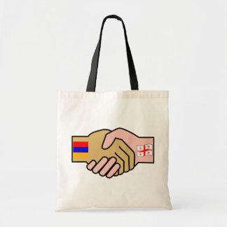 Armenia Georgia, Armenia flag Tote Bag