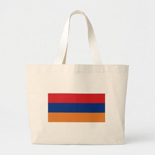Armenia National Flag Tote Bags