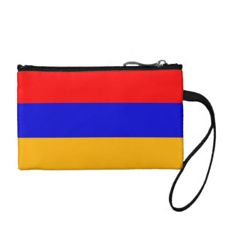 Armenia National Flag Coin Wallet