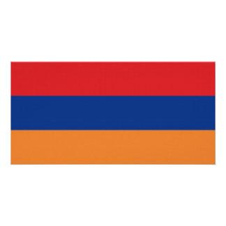 Armenia National Flag Personalized Photo Card