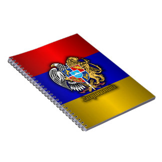 Armenia Pride Spiral Notebooks