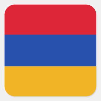 Armenia Square Sticker