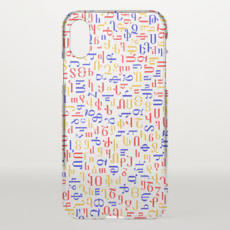 Armenian alphabet iPhone x case