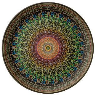 Armenian alphabet plate porcelain plate