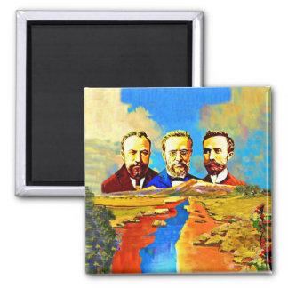 Armenian ARF 2 Inch Square Magnet