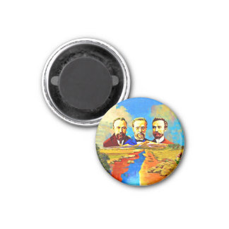 Armenian ARF Large, 3 Inch Round Magnet