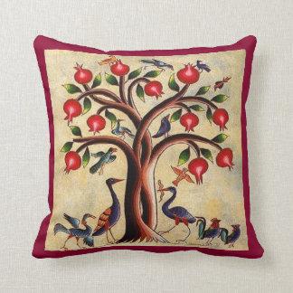 """Armenian Art Polyester Throw Pillow 16"""" x 16"""""""