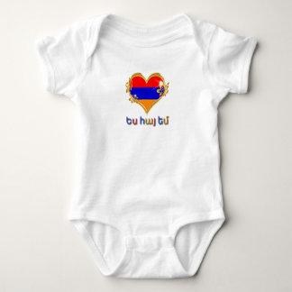 Armenian Baby Jersey Bodysuit