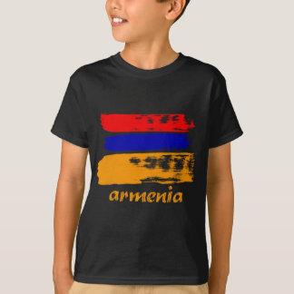 Armenian brush stroke flag design T-Shirt