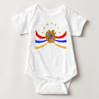 Armenian Coat of Arms Baby Jersey Bodysuit