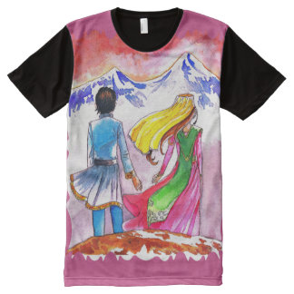 Armenian Custom All-Over Printed Tshirt