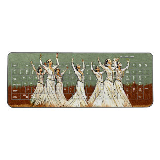 Armenian Custom Dancers Wireless keyboard