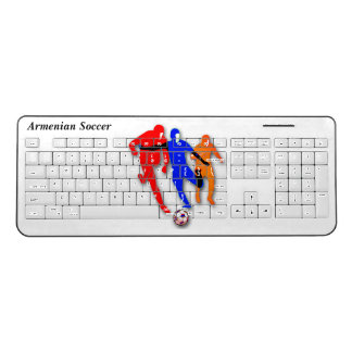 Armenian Custom Soccer Wireless Keyboard