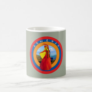 Armenian Dancer and the Flag Mug