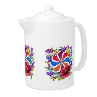 Armenian eternity sign Medium Teapot