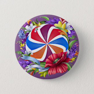 Armenian Eternity Sign Round Button