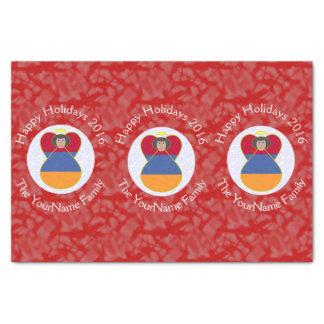 Armenian Flag Angel Christmas 2016 Tissue Paper