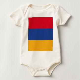 Armenian flag baby bodysuit