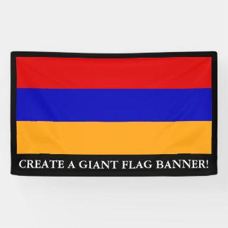 Armenian Flag Banner