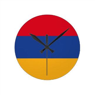 Armenian flag clock