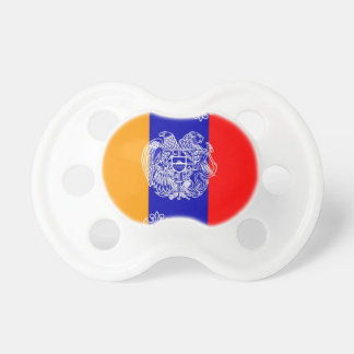 Armenian Flag & Coat of Arms Pacifier