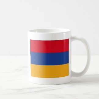 Armenian flag coffee mug
