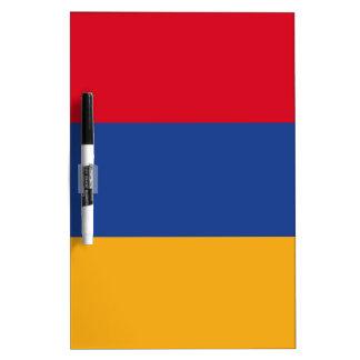 Armenian flag dry erase board