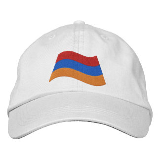 Armenian Flag Embroidered Hats