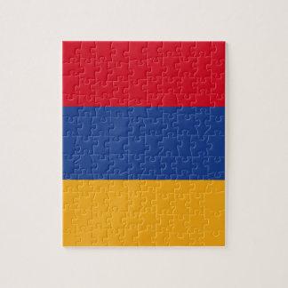 Armenian flag jigsaw puzzle