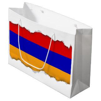 Armenian Flag Large Gift Bag