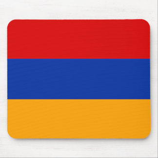 Armenian flag mouse pad