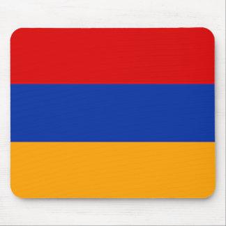 Armenian flag mouse pad