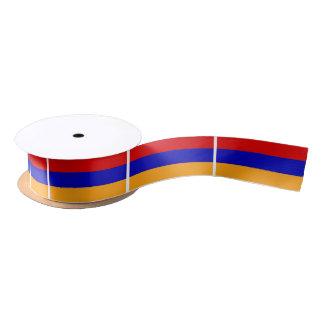 Armenian Flag Satin Ribbon