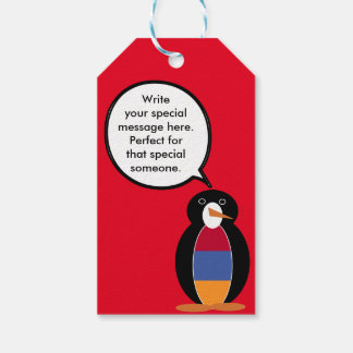 Armenian Flag Talking Penguin