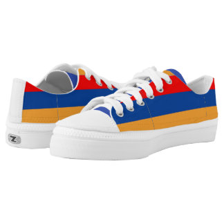 Armenian Flag tennis shoes
