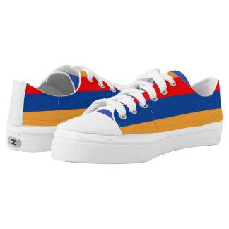 Armenian Flag tennis shoes Printed Shoes
