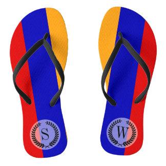 Armenian Flag Thongs