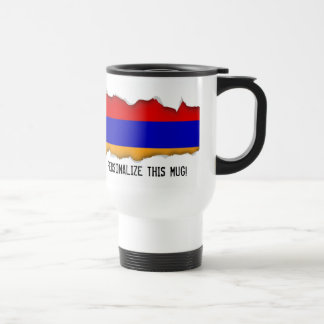 Armenian Flag Travel Mug
