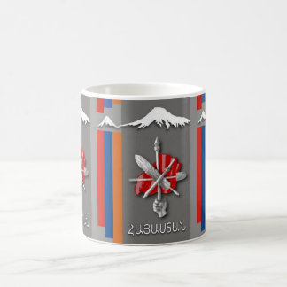 Armenian Flag Zenatrosh and masis ararat mug