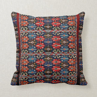 Armenian Folk Art Polyester Throw Pillow  5