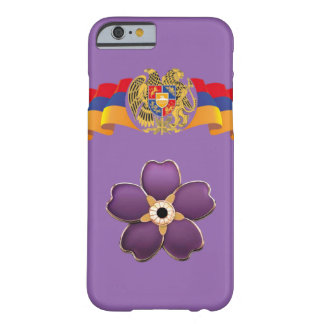 Armenian forget me not flower and the flag case