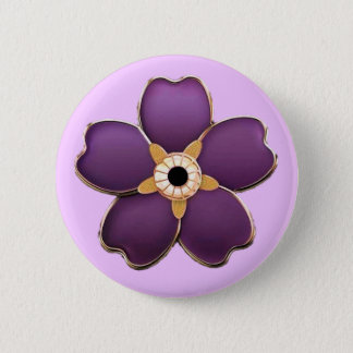 Armenian Forget me not flower Round Button