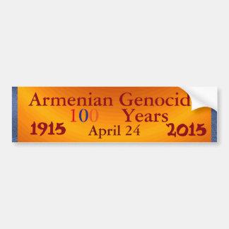 Armenian Genocide Bumper Sticker