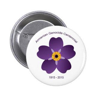 Armenian Genocide Centennial Button 2 Inch Round Button