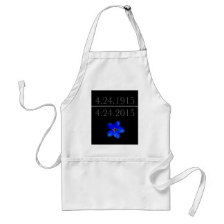 Armenian Genocide Forget Me Not Standard Apron