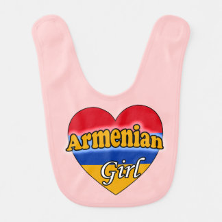 Armenian Girl Baby Bib